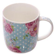 #Hrnek z čínského porcelánu #Květy #Chintz #mug
