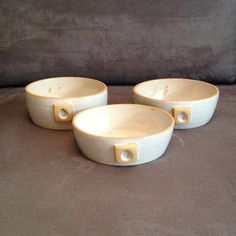 Conjunto Tigelas Amarelas