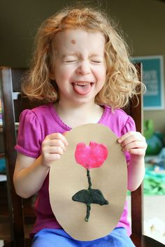 Spring Scented Microwave Puffy Paint Recipe from Fun at Home with Kids