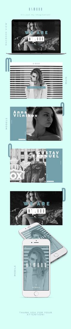 B \ MOOD Website #website #design #layout #graphic