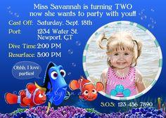 Nemo party invitations