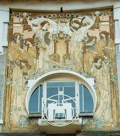 Cauchie Art Nouveau Brussel