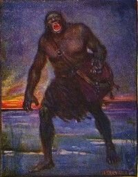 Grendel. In the medieval epic Beowulf, the monstrous Grendel can be seen as the physical embodiment and culmination of specific medieval fears. He is physically other, is believed to be hated and abandoned by God, engages in ruthless displays of cannibalism, cannot be slain by normal weaponry, and dwells on the borders of the civilized Danish world.