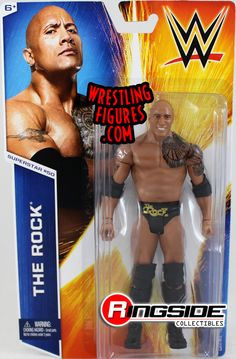 The Rock - WWE Series 53 WWE Toy Wrestling Action Figure