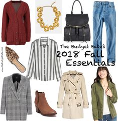 4670f96685382b The Budget Babe Round-Up  Essential Items for Fall 2018