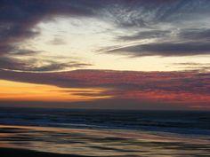 Newport Oregon has the best sunsets!