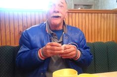 This Dad Has The Most Adorable Reaction To Discovering He's Going To Be A Grandpa