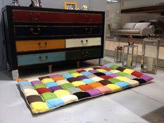 Alfombra de hecho a mano alfombra alfombra niños