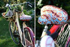 Fahrradsattelbezug nähen