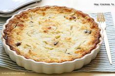 Hoy Cocinas Tú: Tarta de manzana con pan de ayer