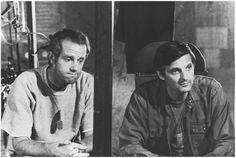 Still of Alan Alda and Mike Farrell in M*A*S*H