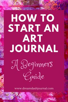 It's easy to start an art journal, even for beginners. All you need are a few basic art supplies, easy art techniques, & a sprinkle of creative inspiration. Art Journal Pages, Journal D'art, Art Journal Prompts, Art Journals, Journal Ideas, Writing Prompts, How To Journal, Art Therapy Projects, Art Therapy Activities