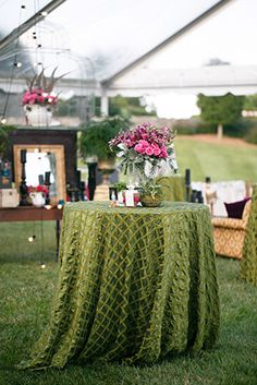 pink and green weddings Engage!13: Vintage Wedding Party