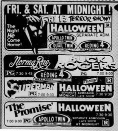 Old Movies, Vintage Movies, R Man, Horror House, Movie Prints, Dusk To Dawn, Tv Ads, Old Newspaper, Classic Movies