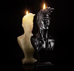 Half a Person: A Morrissey Effigy candle