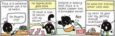 Breaking Cat News by Georgia Dunn for Mar 30, 2017 | Read Comic Strips at GoComics.com