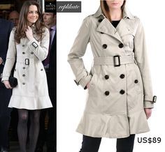 Burberry trench coat repliKate