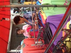 Minda shopping in Bangkok at the street market selecting beautiful hand made batik tops! Wow! We're getting it straight from the source, how cool is that?