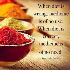 Why take medicine when you can take healthy food? :-)