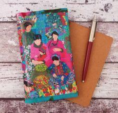 Protège carnet de notes, de voyage... Chine motif fantaisie au marché : Carnets, agendas par rougemadras