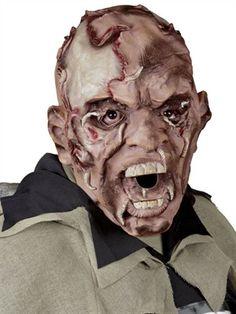 Latexmaske Zombie med mider - www.BlikfangsKostumer.dk