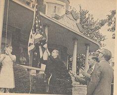 flag dedication ceremony script