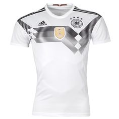 67d386cca61 Germany World Cup Home Soccer Jersey 2018 This is the Germany 2018 World  Cup Home Football Shirt. Traditional and classy