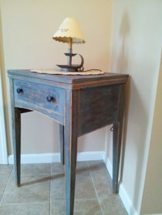 Your place to buy and sell all things handmade Repurposed Furniture, Painted Furniture, Sewing Cabinet, Old Sewing Machines, Reclaimed Lumber, Sewing Table, Country Decor, Furniture Makeover, Decorative Items