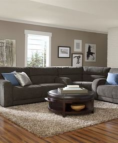 Living Room Wall Color With Dark Furniture