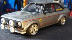MK2 ford escort RS1800 mexico modified tuning 1:18 scale by sunstar