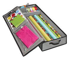 If you need something to fit under the bed or be stashed away elsewhere instead, this totable organizer from The Container Store has tons of compartments, too, and is available for $19.99.
