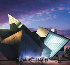 Denver Art Museum...downtown Denver, then you can grab dinner off 16th street or a Jamba Juice and walk around.