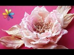 Модный, эксклюзивный аксессуар, украшенный цветами – Все буде добре. Выпуск 688 от 15.10.15 - YouTube