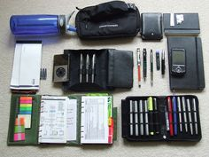 My Bag Contents by crookster1, via Flickr