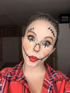 Halloween makeup look using Younique makeup. Why not skip the Halloween isle and avoid the harsh chemicals and use Younique makeup instead! Natural based mineral ingredients that do the skin good, and it's safe for children too! If you ask me that's a win, makeup all year around on top of Halloween makeup! We even make clean up easy and healthy with our Shine Cloths!