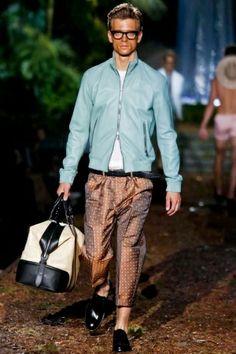 Dsquared2 Menswear Spring Summer 2014 Milan via http://nwf.sh/12fRHlm