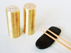 Brass s+p shakers