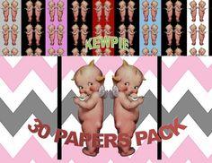 Kewpie Doll Angel Digital Paper Pack Clipart Included Kewpie Doll Angel Image Kewpie Doll Kewpie Doll Template Angel Kewpie Cutout by ICreateAndCollect on Etsy