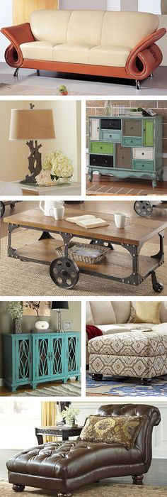 Love the two buffets, the chaise, and the coffee table.