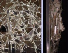 Broken Mirror wall by Kelly Bryant