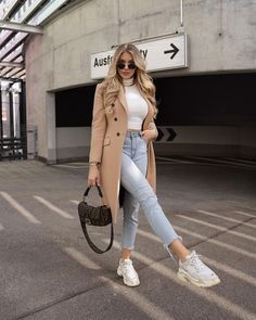Fashion Mode, Winter Fashion Outfits, Look Fashion, Trendy Fashion, Fall Outfits, Trendy Winter Outfits, Winter Coat Outfits, Minimal Fashion, Winter Clothes