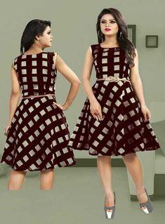 Modal chanderi Indian Party Wear Fancy Western Skirt For Girls Wear KZPU 5 Western Gown, Western Wear, Indian Party Wear, Indian Bollywood, India Fashion, Girls Wear, Skirt Fashion, Blouse Designs, Kurti