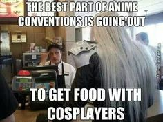 one year I was downtown and totally forgot ECCC was going on until I saw some anime characters walk by