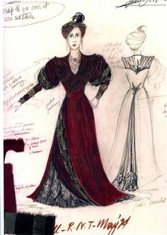 The Seagull. National Theatre, London. Costume design by Fontini Dimou.