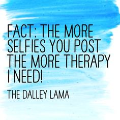 At some point (hopefully) people will learn that tons of selfies don't add value! #socialmediatips #influencer
