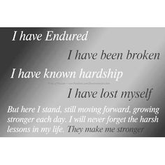 Amen I have endured alot especially in past two months of this year but yet I smile through my sickness and the betrayal of the past!