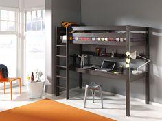 Vipack Furniture Hochbett »Pino« Jetzt bestellen unter: https://moebel.ladendirekt.de/kinderzimmer/betten/hochbetten/?uid=925c98b8-b368-5eaa-890c-65de9072bf8d&utm_source=pinterest&utm_medium=pin&utm_campaign=boards #kinderzimmer #hochbetten #kinderbetten #betten