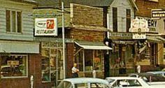 South Main Street Mansfield PA 19 sixties