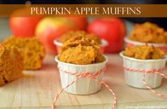 Pumpkin Apple Muffin Recipe for Kids with @Produce for Kids