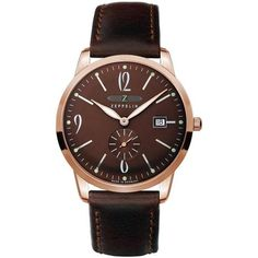 This is the striking Zeppelin Men's Flatline Bronze Dial Watch - 7336-5 - £199  View this item at http://www.nigelohara.com/zeppelin-mens-series-flatline-bronze-dial-watch-73365-73365-pid24682.html  Or view the entire range at http://www.nigelohara.com/zeppelin-watches/
